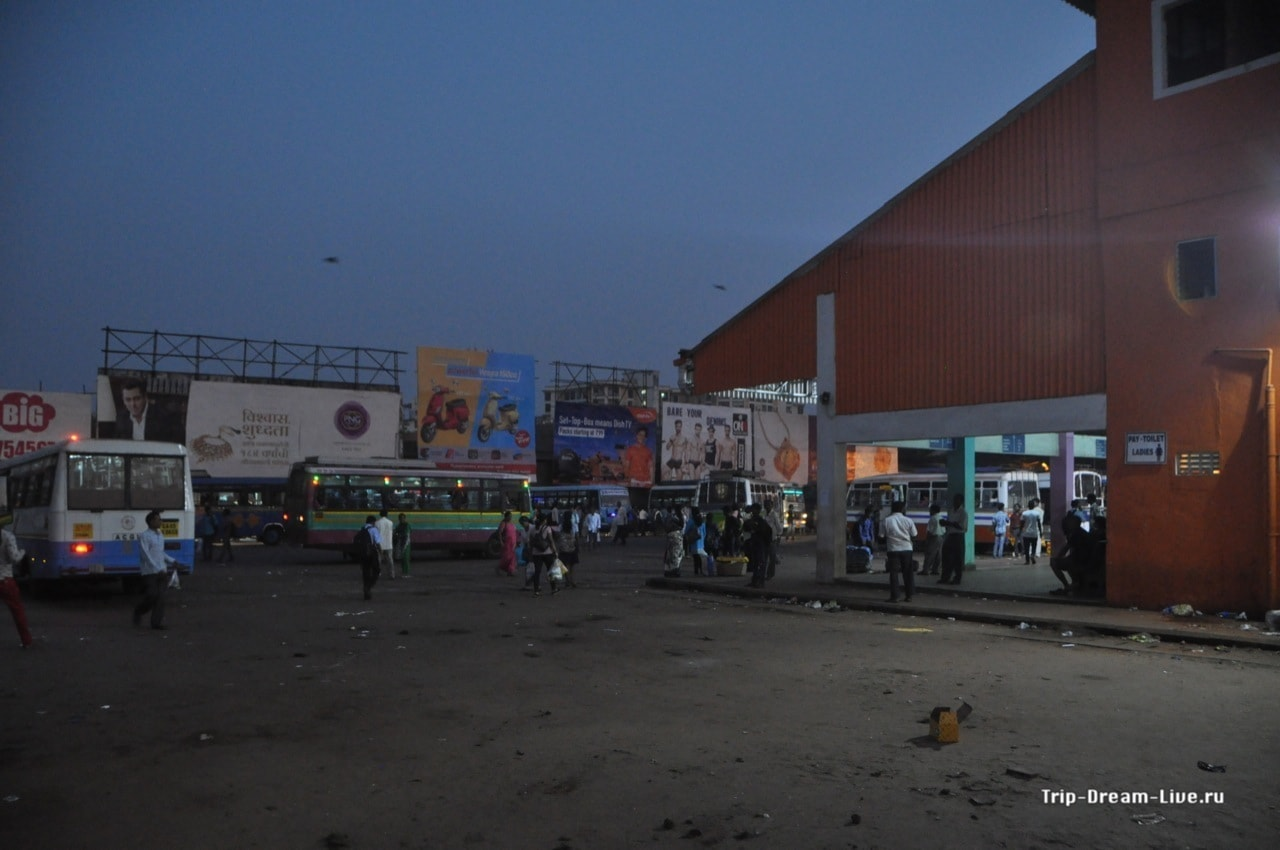 Автовокзал в Мапсе