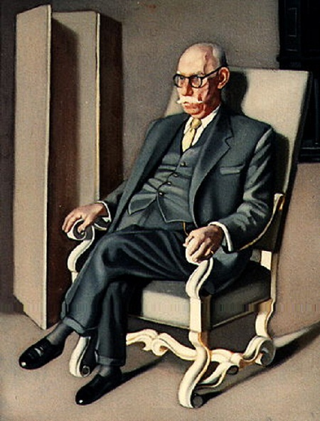Portrait of Baron Kuffner in an Armchair