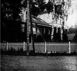 15. 1914. Штаб 46-ой пехотной дивизии в городе Ниско. Галиция