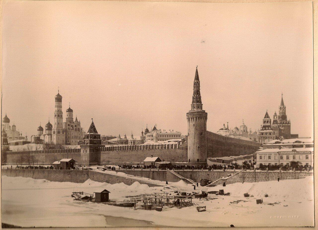 751. Кремль и Москва-река зимой