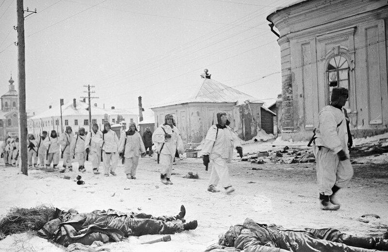 освобождение Калинина, убей немца, смерть немецким оккупантам