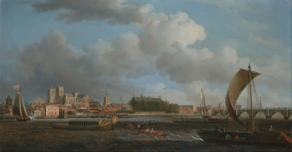 1280px-Samuel_Scott_-_Westminster_from_Lambeth,_with_the_Ceremonial_Barge_of_the_Ironmongers'_Company_-_Google_Art_Project.jpg
