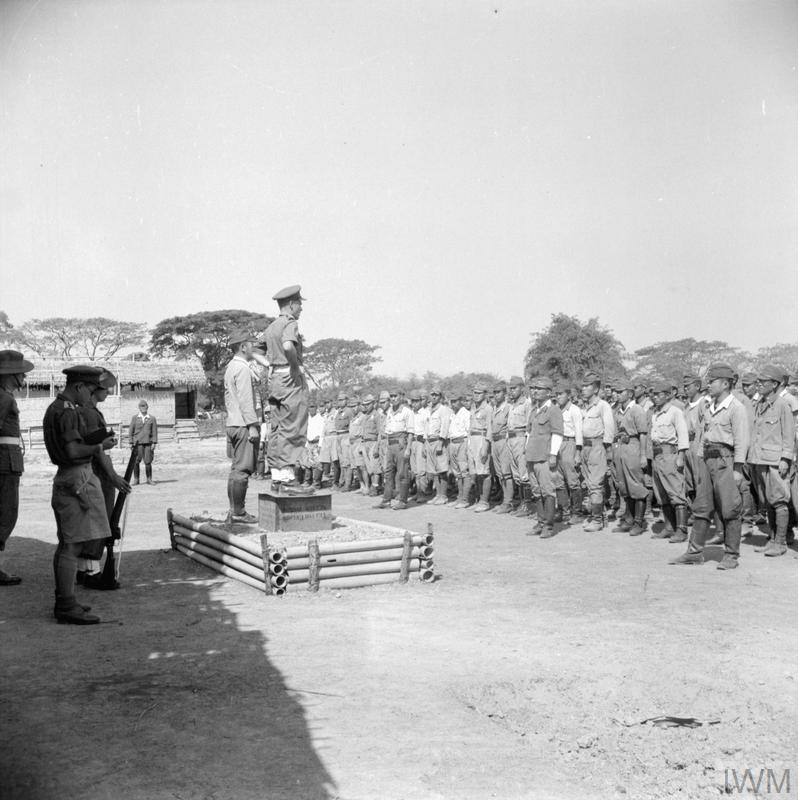 THE BRITISH REOCCUPATION OF BURMA