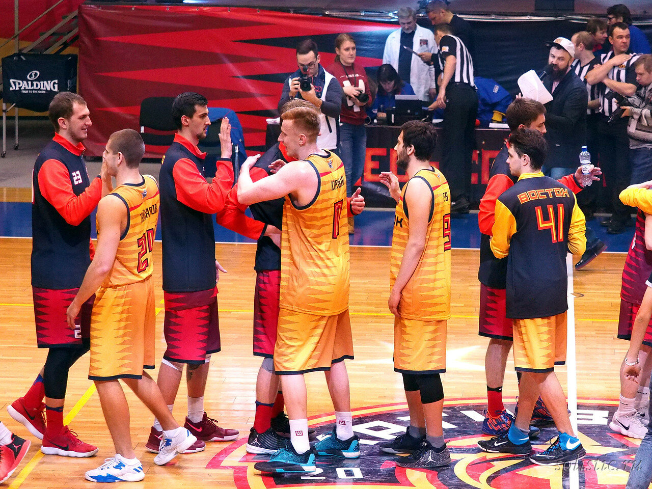 149 Матч звезд АСБ 2018 (ассоциации студенческого баскетбола)