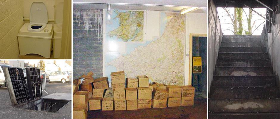 Заброшенный ядерный бункер времен холодной войны в Великобритании