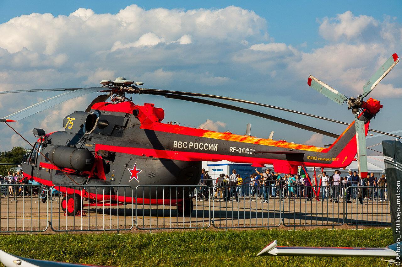 Ми-8АМТШ(Ми-171Ш) RF-04413 / 75 на МАКС-2017.