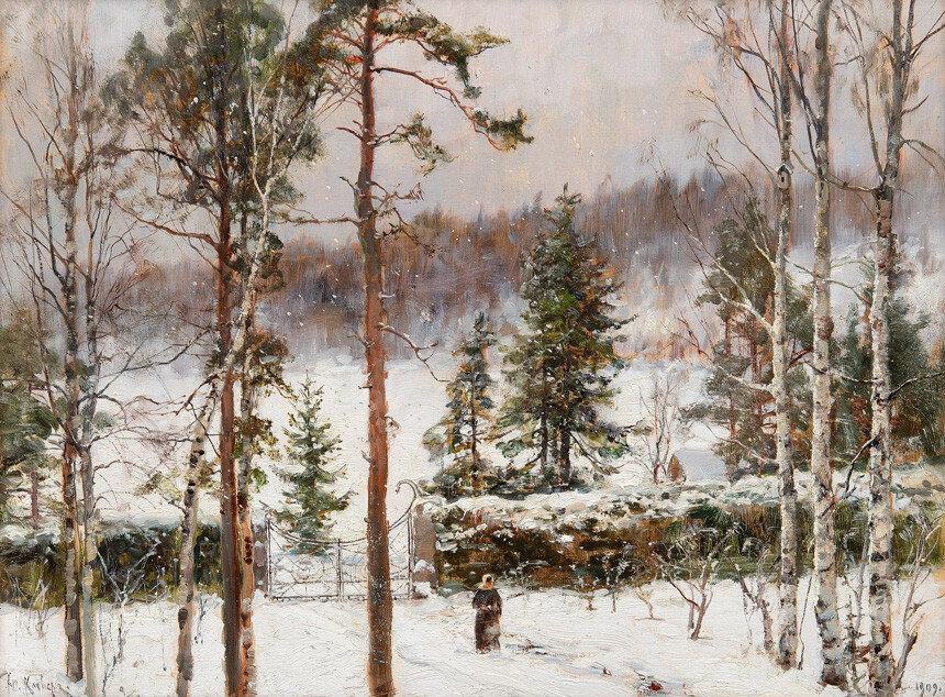 Клевер Снегопад. 1909