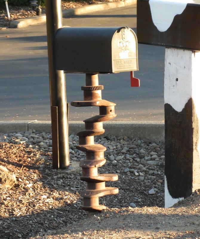 Почта и коленвал