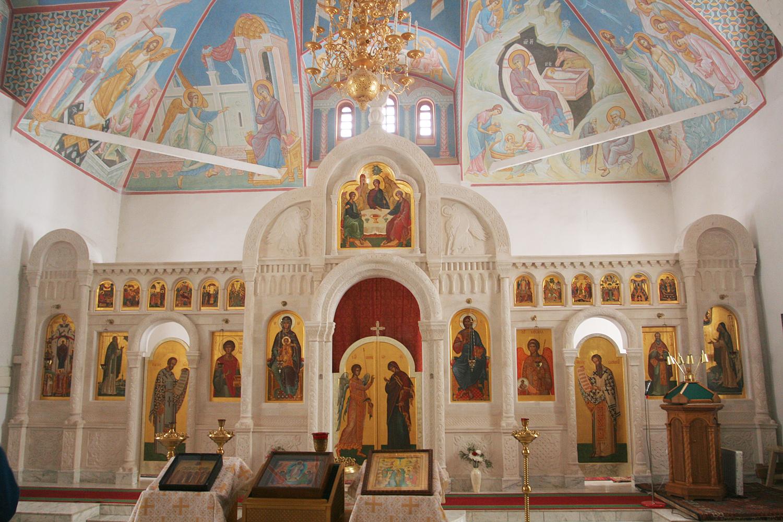 Иконостас Пущинского храма