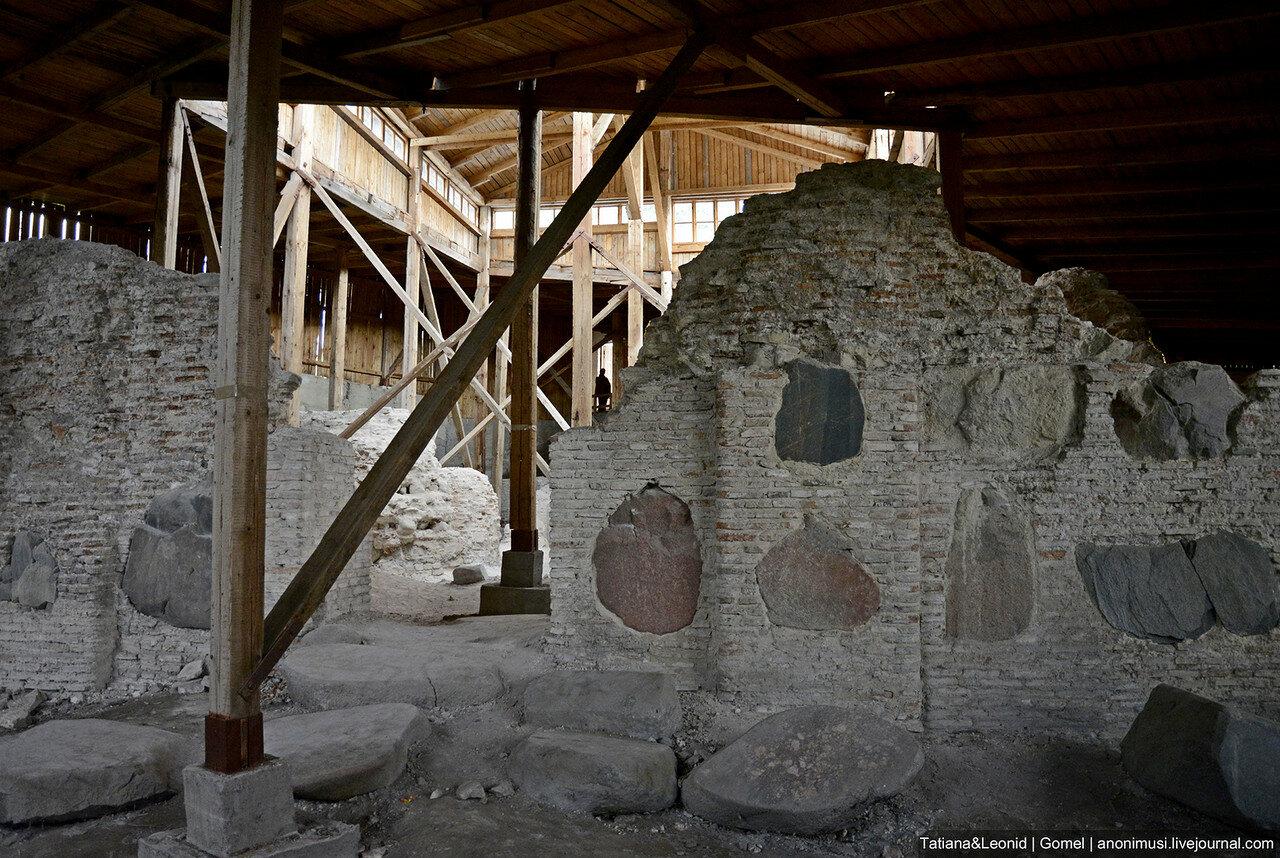 Нижняя церковь в Старом замке в Гродно. Беларусь