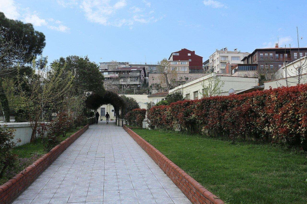 Стамбул, Айвансарай. Квартал Еиркапы (Eğirkapı)