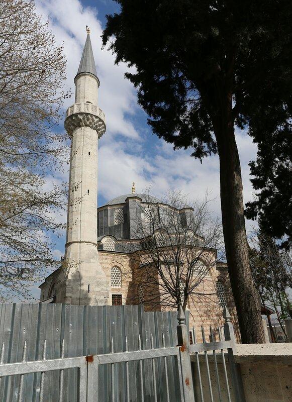 Istanbul, Ayvansaray. Quarter AirCap (Eğirkapı). Mosque Ayvaz Efendi (Ivaz Efendi Çeşmesi)