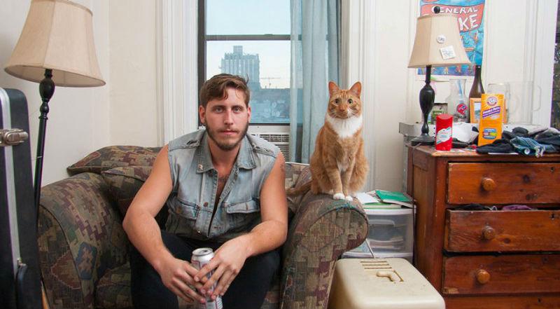 """0 1810d8 383c9bf3 orig - Фотоподборка на тему """"Одинокие мужчина со своими котами"""""""