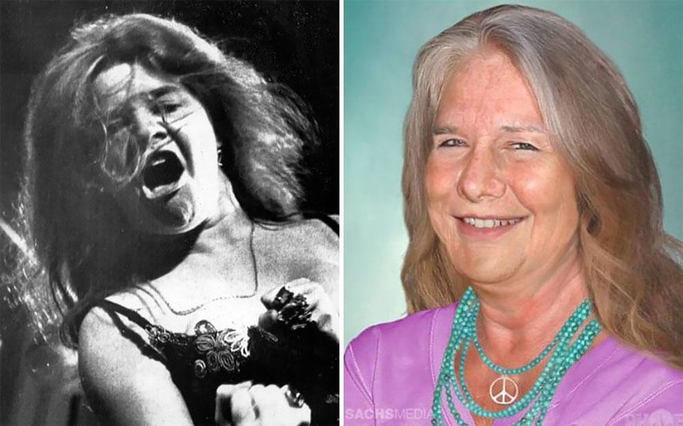 Дженис Джоплин (19 января 1943 — 4 октября 1970), рок-певица, умерла также в возрасте 27 лет.