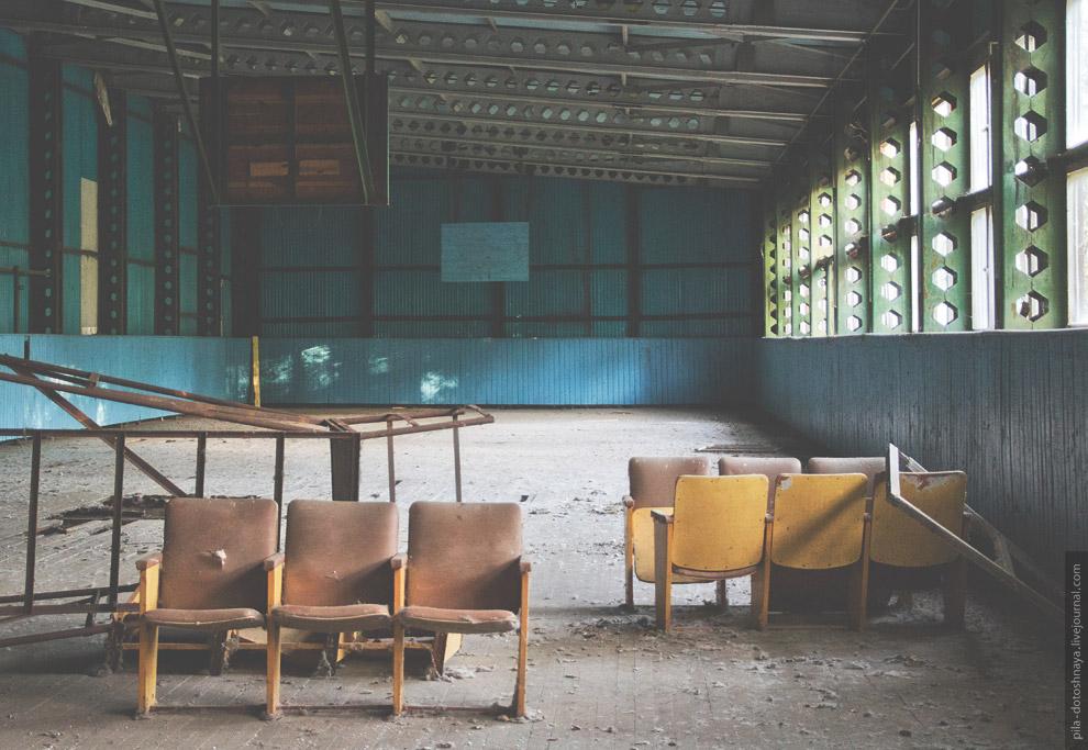 Заброшенный детский лагерь