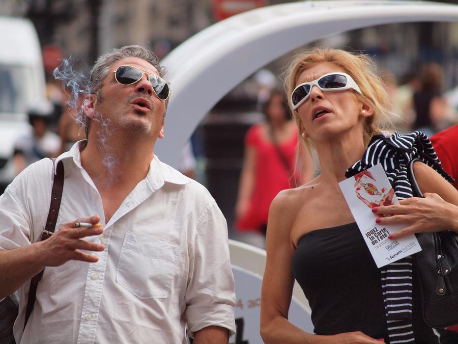 Американцы    Отправляясь в путешествие, американцы не прочь выпить лишнего и п