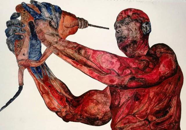 Картины, которые написаны больными шизофренией (20 фото)