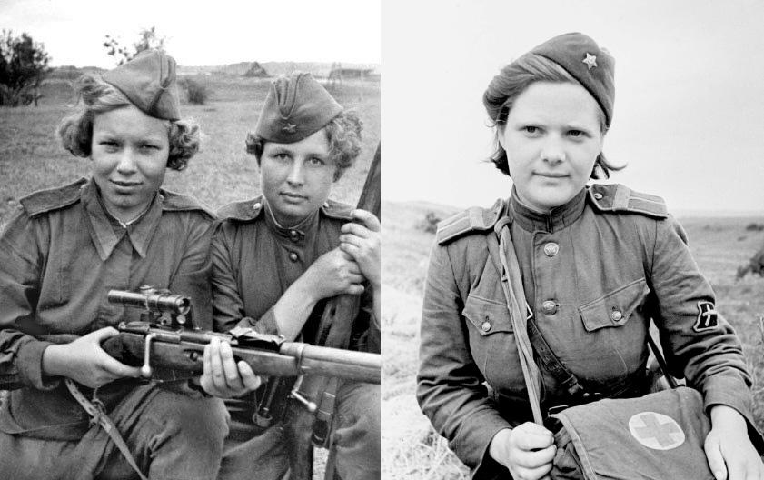 Женщины на войне: правда, о которой не принято говорить (12 фото)