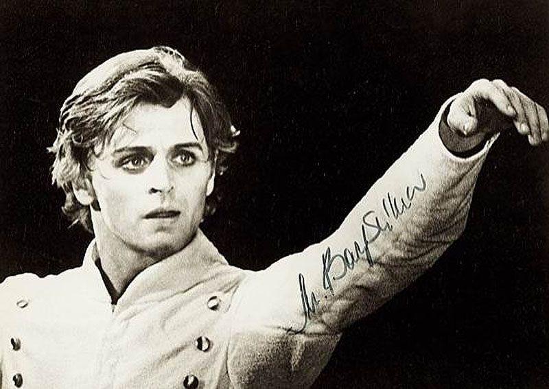 4. В 1964 году Барышников стал учеником знаменитой русской балетной школы, а затем – солистом просла