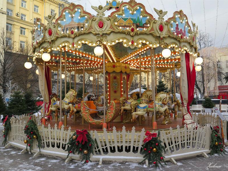 Карусель на Тверской площади