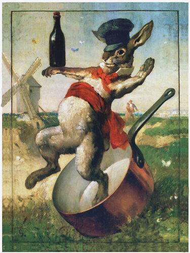 Ловкий кролик Андре Жиля