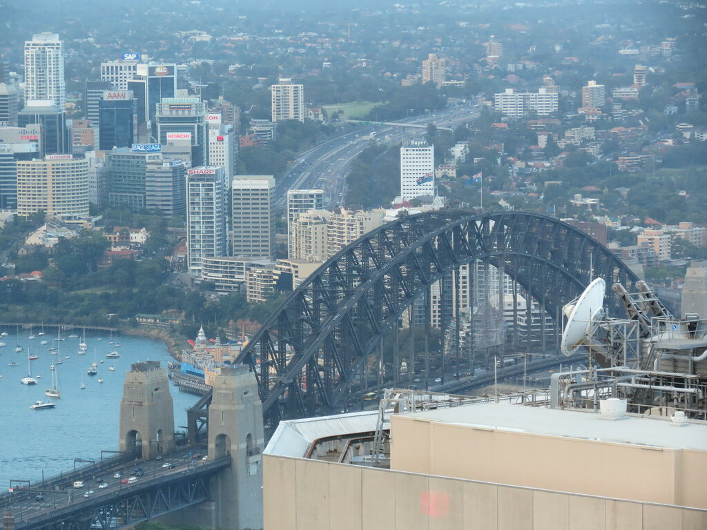 Сидней с телебашни