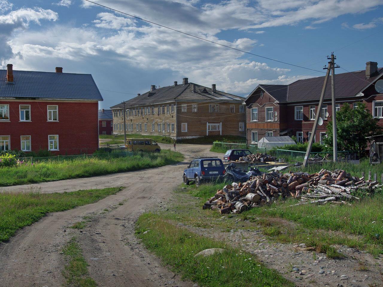 Соловецкий поселок. Автор фото: Юрий Семенов