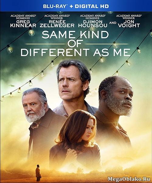 Такой же другой, как и я / Same Kind of Different as Me (2017/BDRip/HDRip)