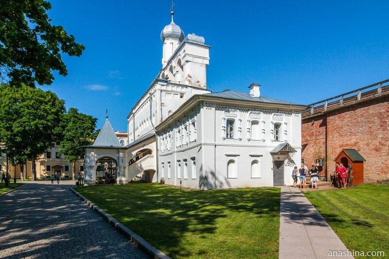 Звонница Софийского собора, Великий Новгород, Новгородский кремль