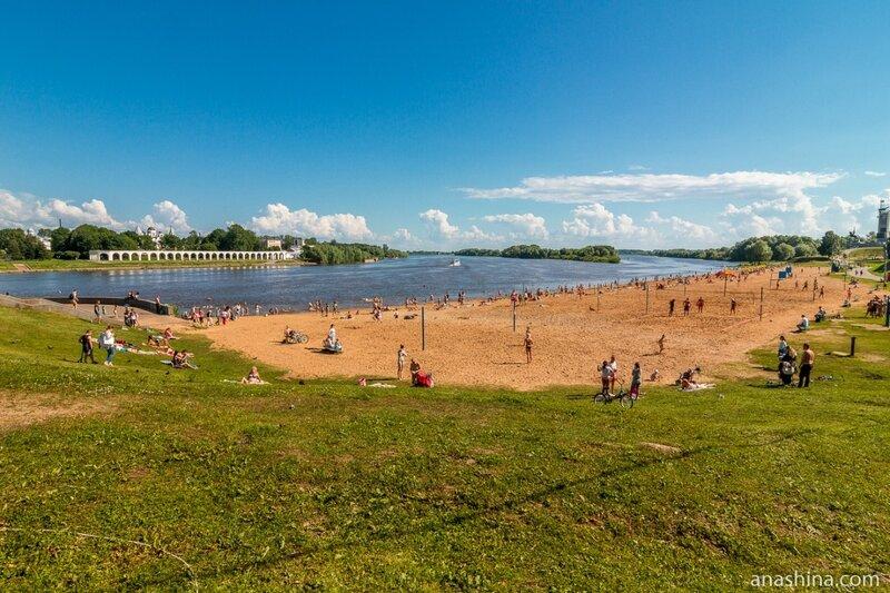 Волхов, Великий Новгород