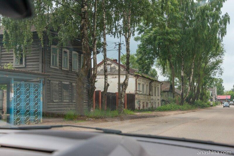 Дома по Цнинской набережной, Вышний Волочек