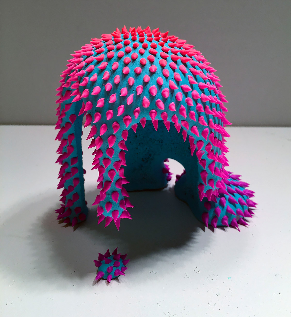 Squishes, Drips & Blobs: Bizarre Sculptures by Dan Lam (12 pics)