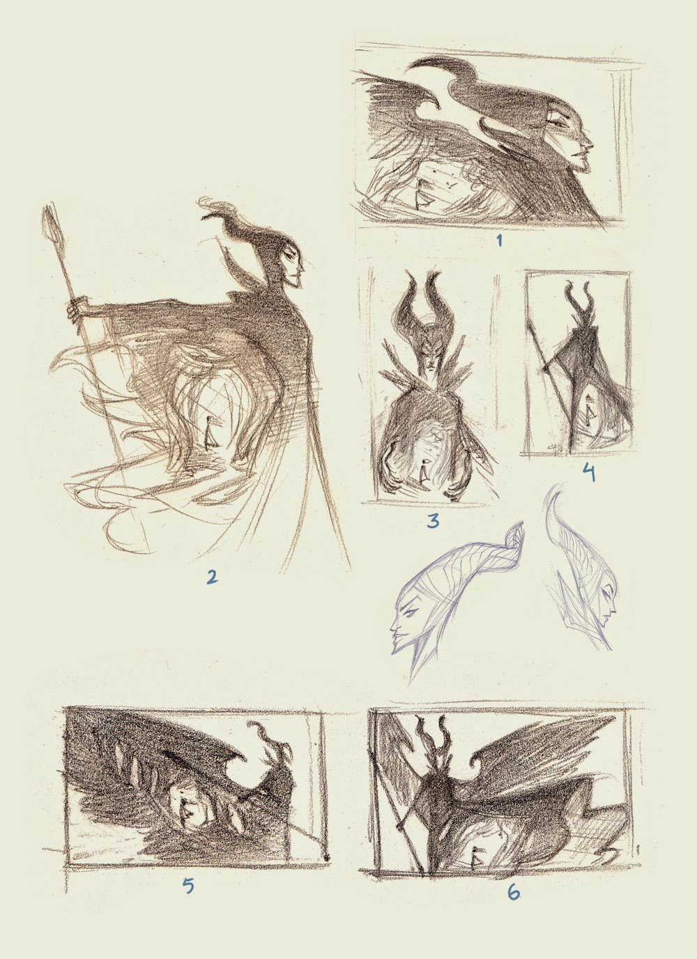 'The Curse of Maleficent: The Tale of a Sleeping Beauty' Illustrations by Nicholas Kole