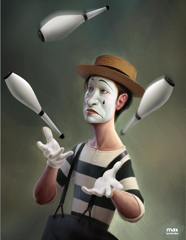 Illustrator - Character Designer - Max Kostenko