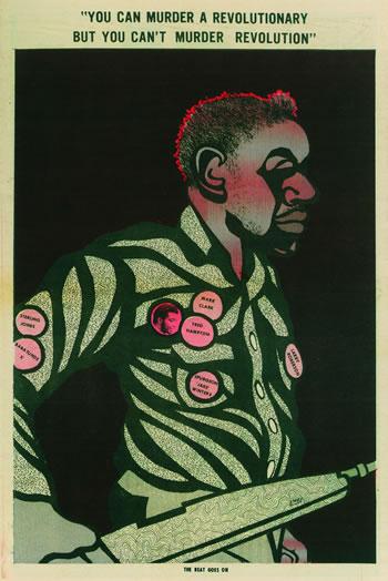 60's & 70's Street Art - Emory Douglas
