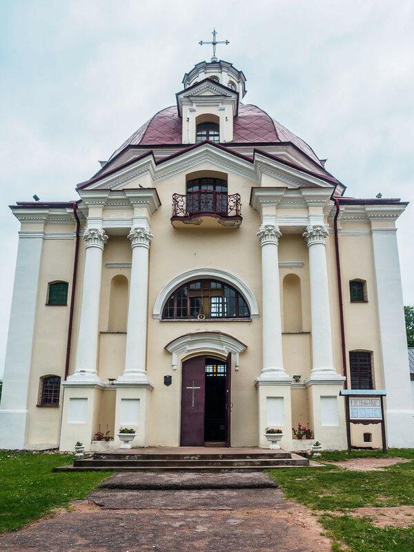 Костёл Божией Матери Шкаплерной, 1754 г.
