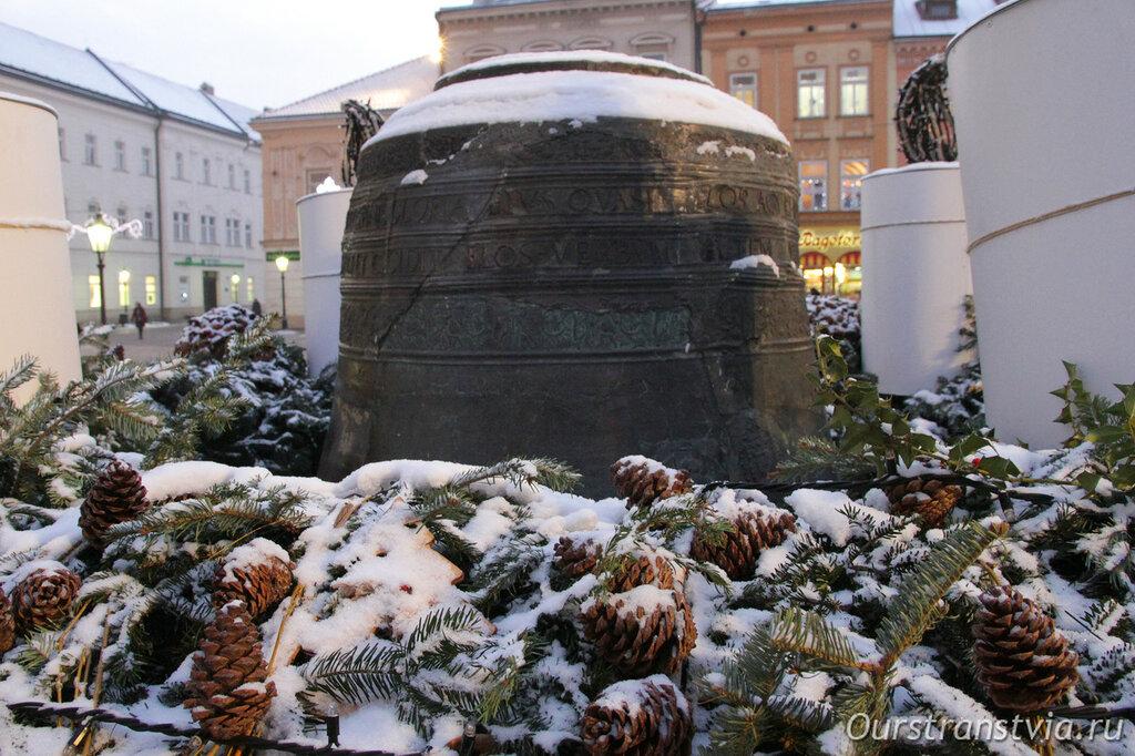 Колокол Башни Урбана в Кошице