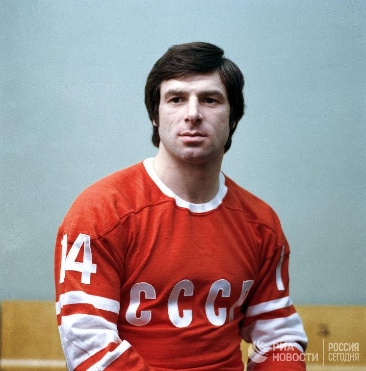 Хоккеист Валерий Харламов, которому в воскресенье исполнилось бы 70 лет