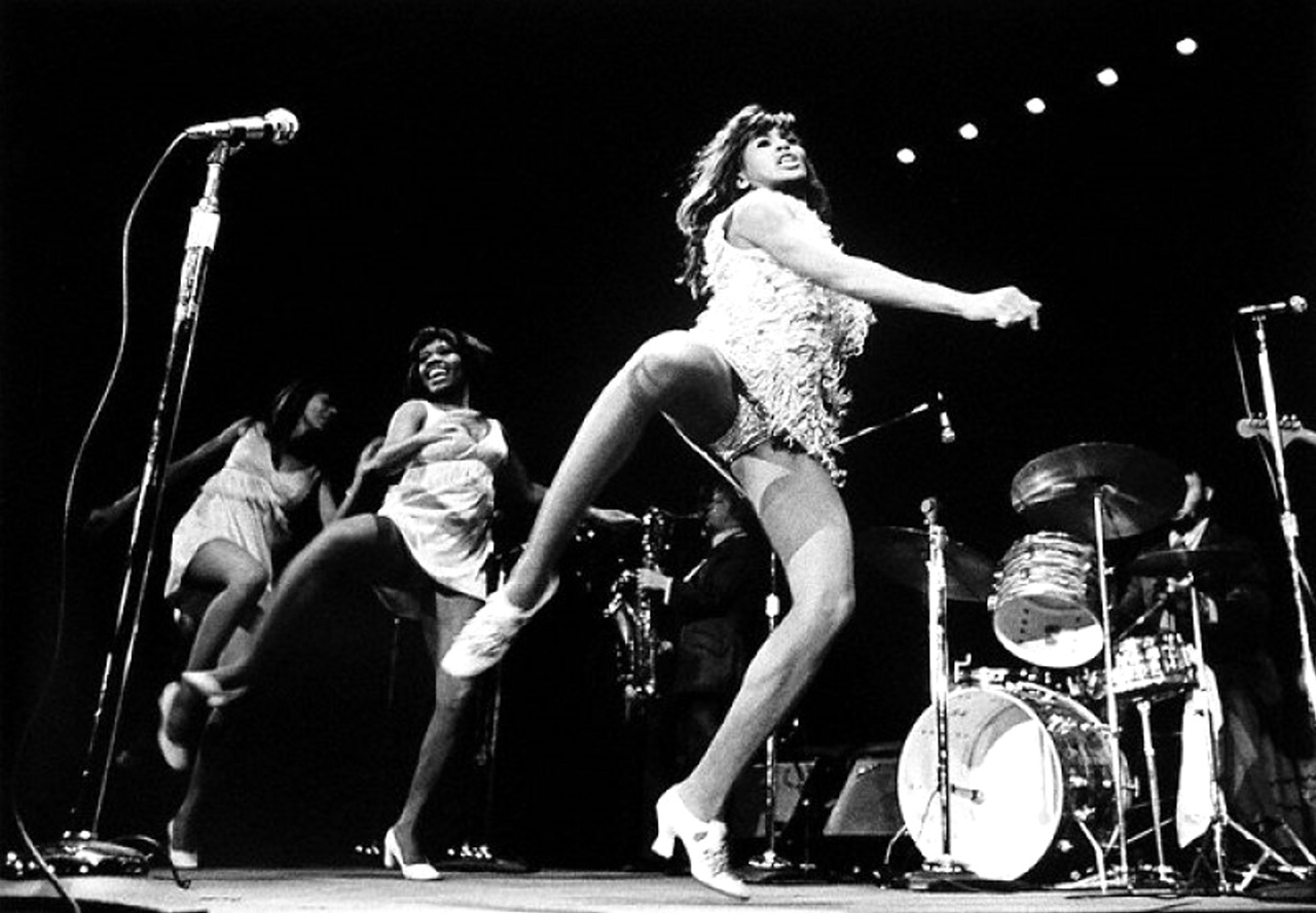 1967. Tina Turner and The Ikettes