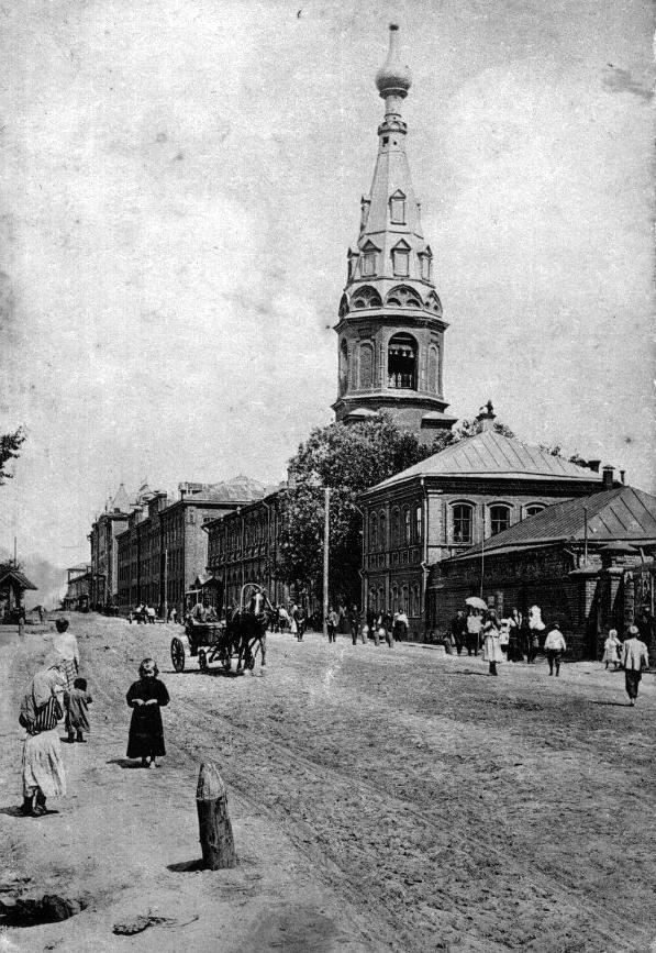 Александро-Невская церковь и улица