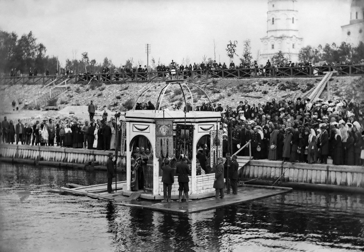 Водосвятие, 1900-е