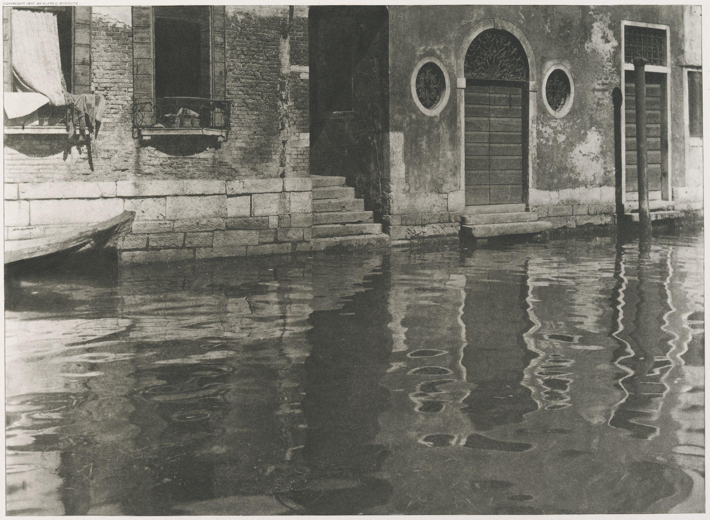 1894. Отражения. Венеция