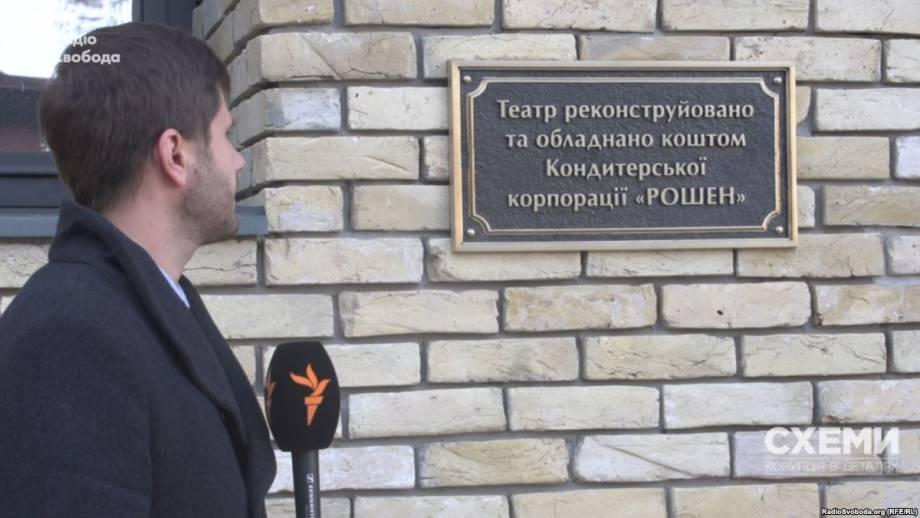 Радио Свобода Daily: Киевляне или «Рошен» – кто вложил в реконструкцию Театра на Подоле больше?