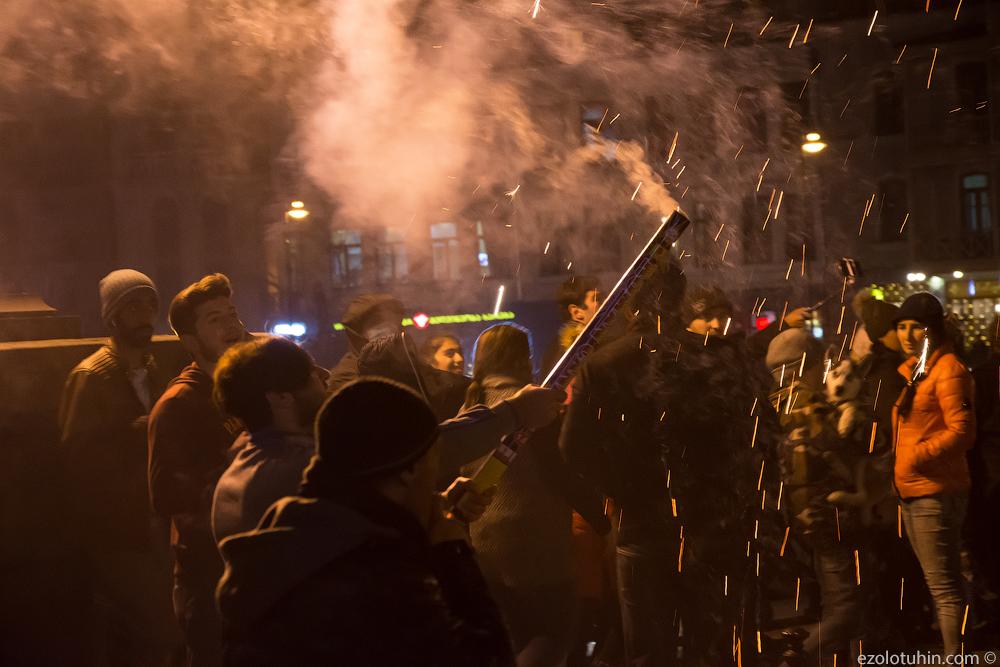 Взрывы на грузинских улицах. Как в Тбилиси встретили Новый год