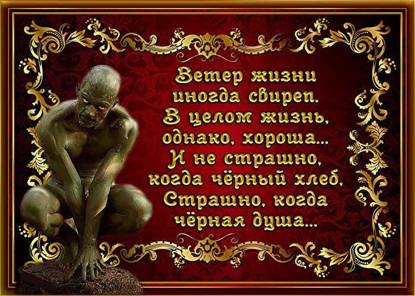Чтоб стать жемчужиною, капля между створок годы проведёт, А человек, чтоб стать свободным, страданий груз перенесёт.