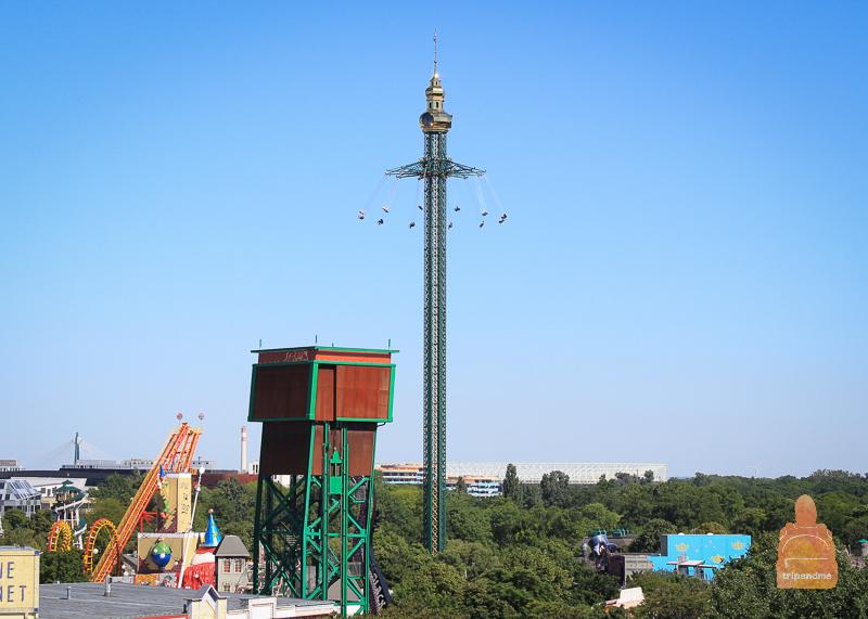 Prater Turm в парке Пратер