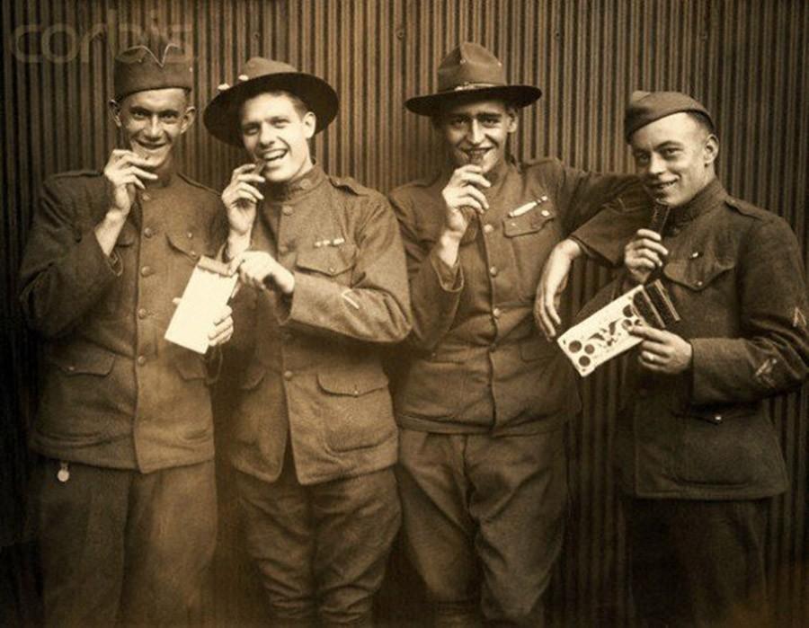 19. Шоколад был включен в рацион солдат во время Второй мировой войны. В соответствии с указаниями с