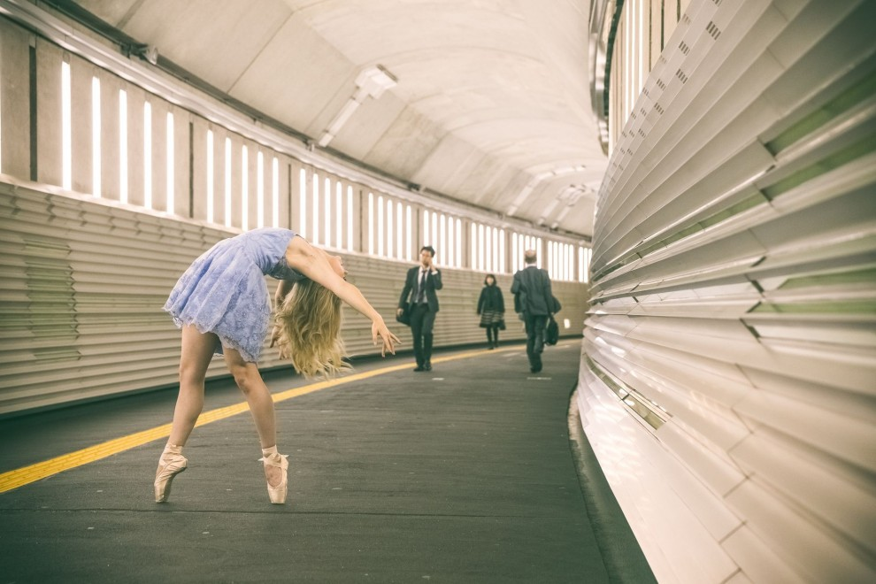 Магия танца, ворвавшегося в городские пространства: фотопроект Шона Данкера