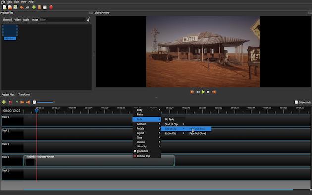 OpenShot обновляется не так активно, как Shotcut, но он стабильнее и работает так же хорошо. Здесь е