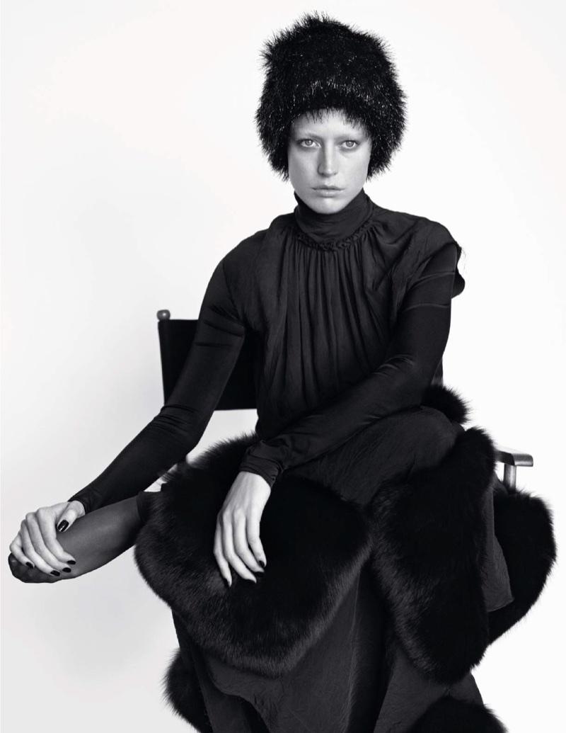 Ракель Циммерманн для Vogue Paris
